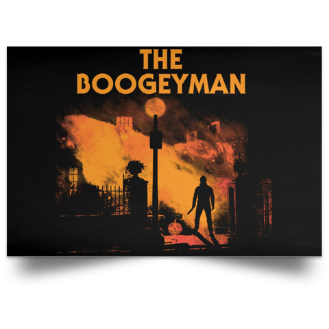 "Housewares Black / 18"" x 12"" The Boogeyman Landscape Poster"