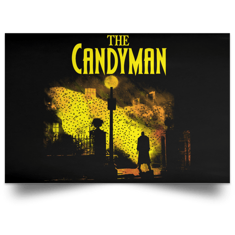 "Housewares Black / 18"" x 12"" The Candyman Landscape Poster"