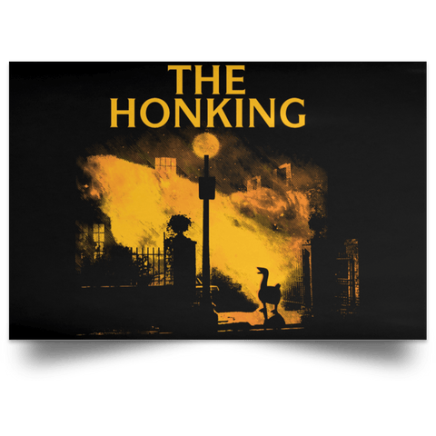 "Housewares Black / 18"" x 12"" The Honking Landscape Poster"