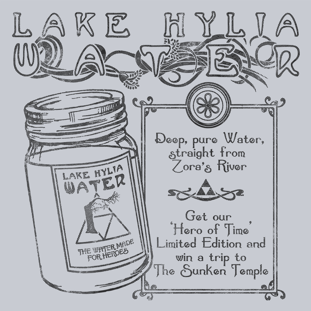 Lake Hylia Water