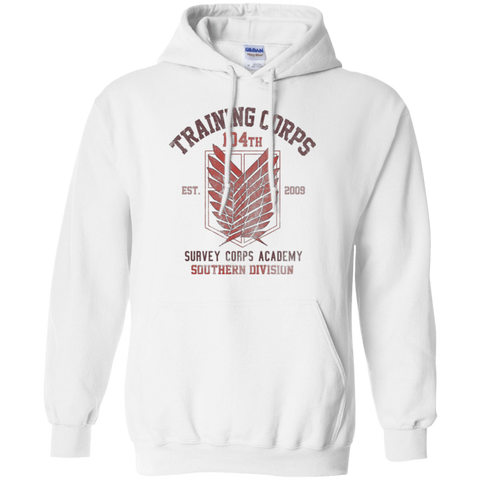 104th Training Corps Pullover Hoodie