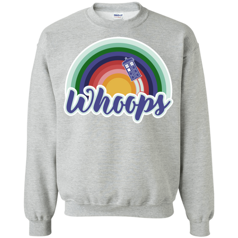 13th Doctor Retro Whoops Crewneck Sweatshirt