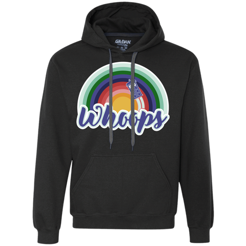 13th Doctor Retro Whoops Premium Fleece Hoodie
