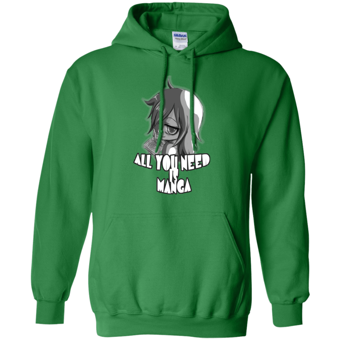 All You Need is Manga Pullover Hoodie