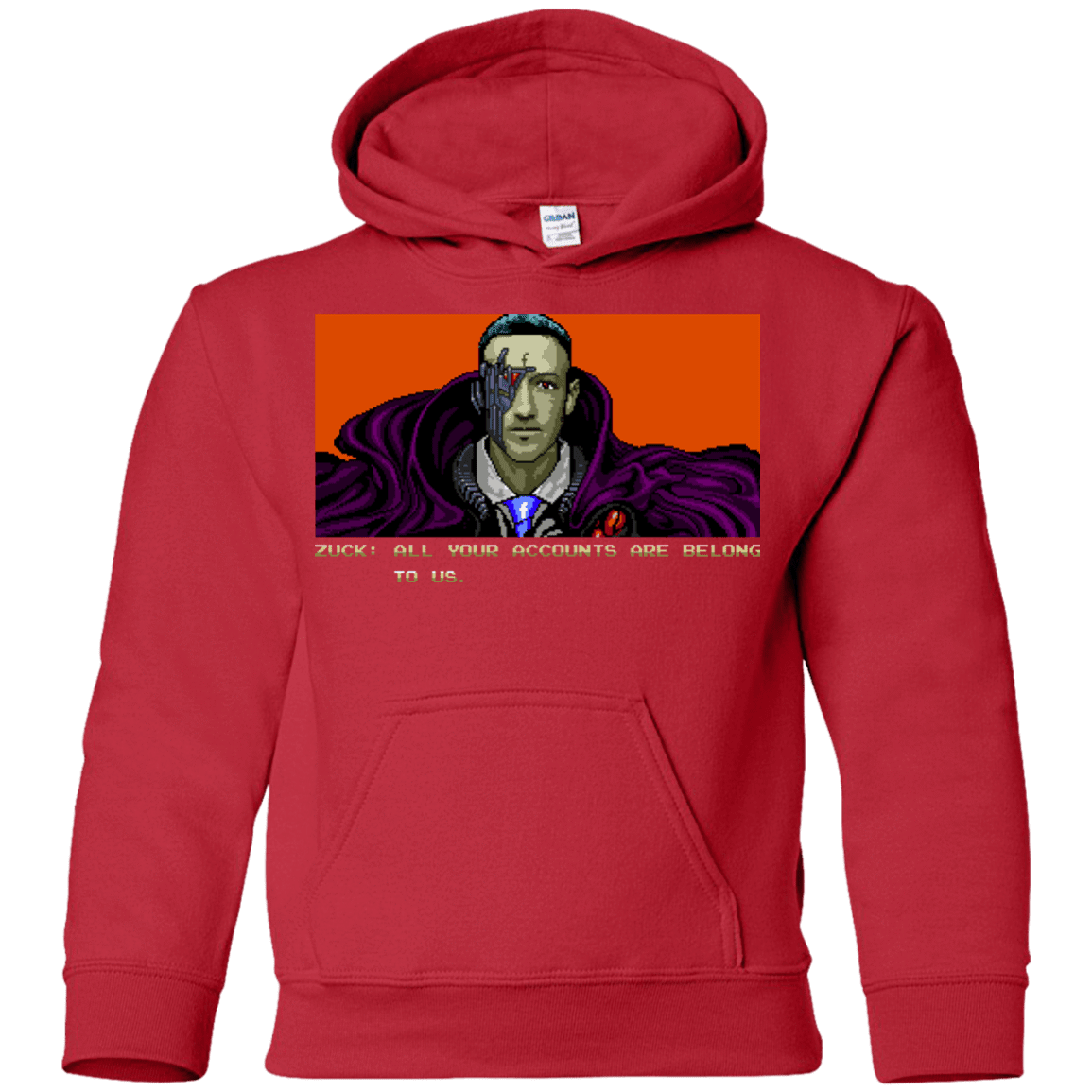 All Your Accounts Youth Hoodie