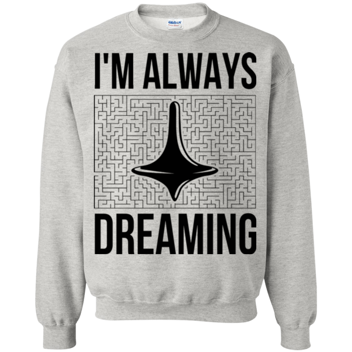 Always dreaming Crewneck Sweatshirt