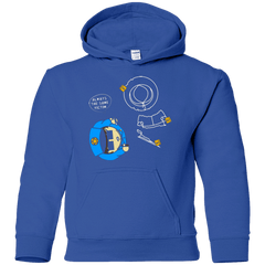 Sweatshirts Royal / YS ALWAYS THE SAME VICTIM Youth Hoodie