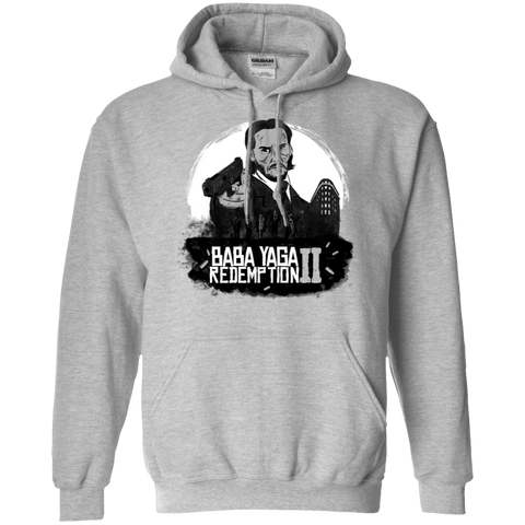 Sweatshirts Sport Grey / S Baba Yaga Redeption Pullover Hoodie