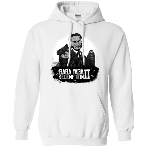 Sweatshirts White / S Baba Yaga Redeption Pullover Hoodie