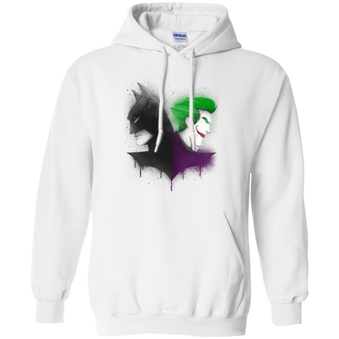 Sweatshirts White / Small Bats Pullover Hoodie