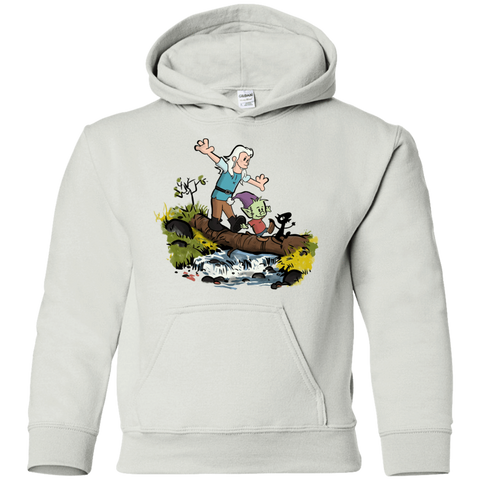 Bean and Elfo Youth Hoodie