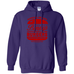 Benny's Burgers Pullover Hoodie
