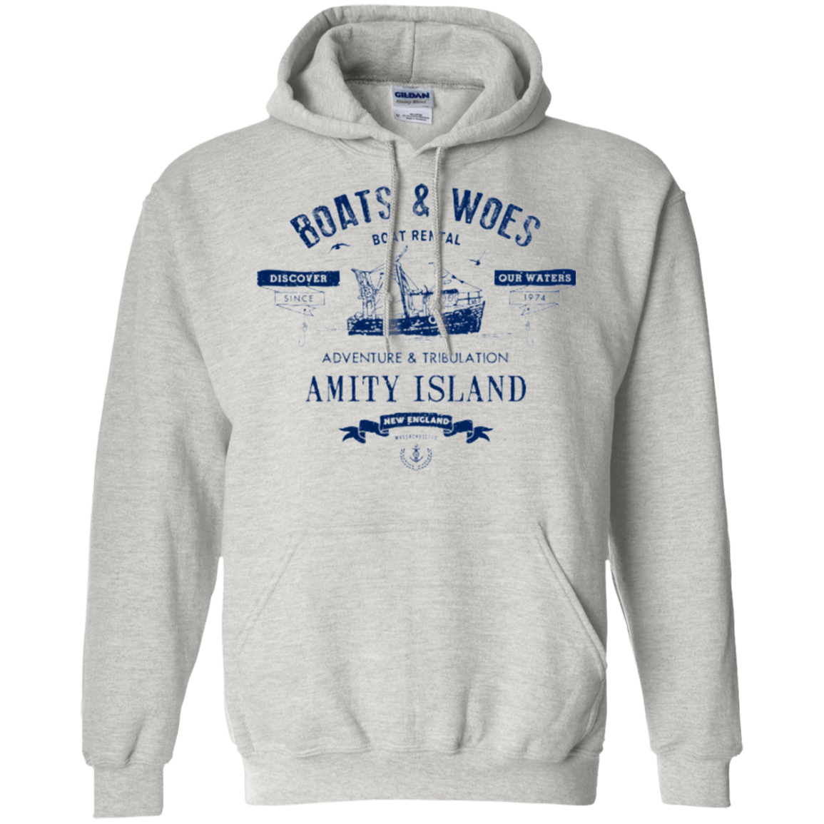 BOATS & WOES Pullover Hoodie