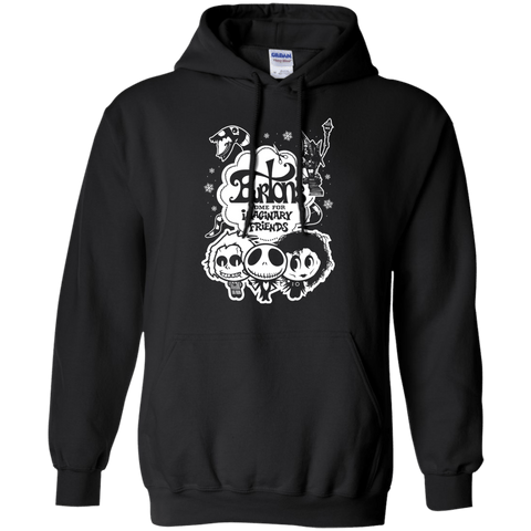 Sweatshirts Black / Small Burtons Imaginary Friends Pullover Hoodie