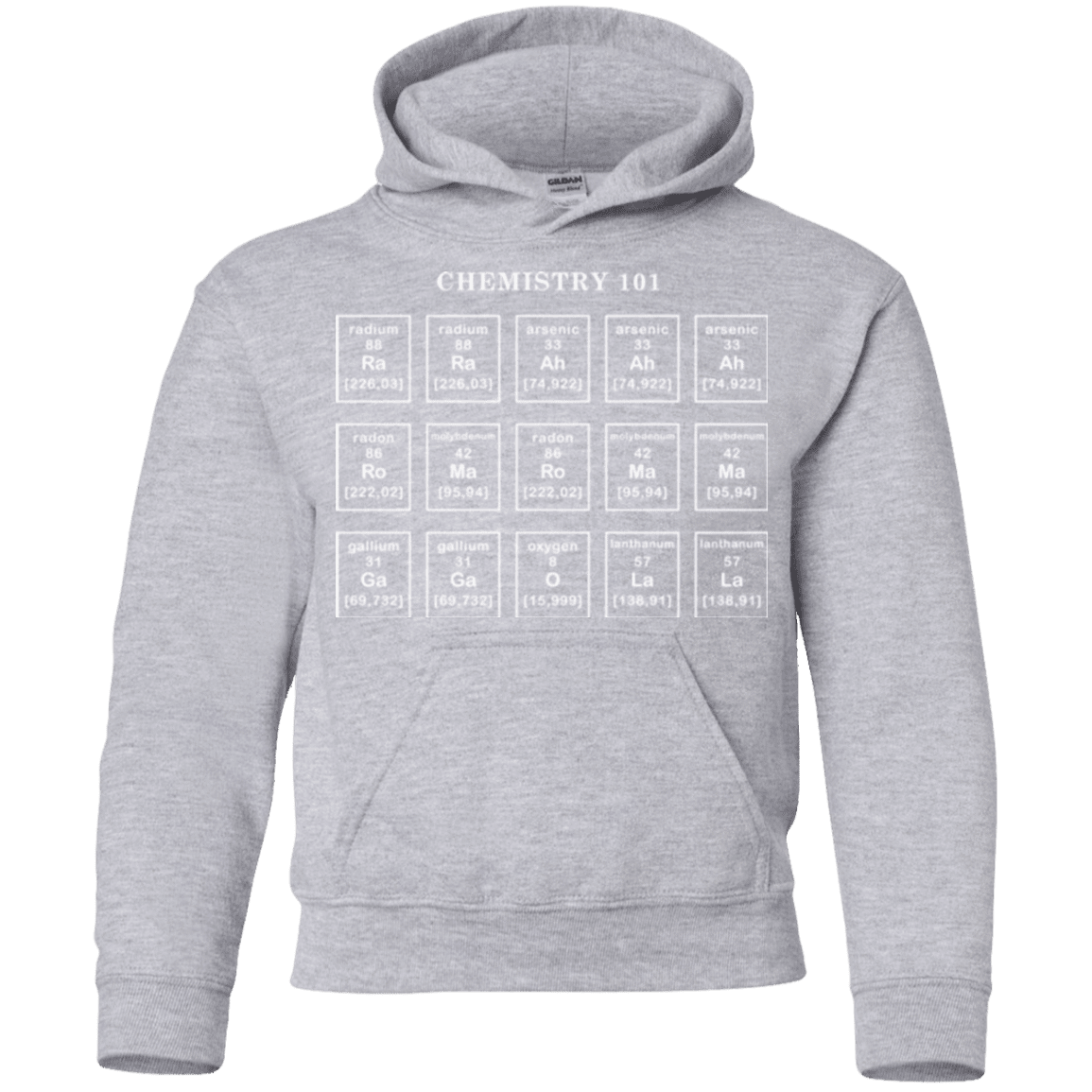 Chemistry Lesson Youth Hoodie