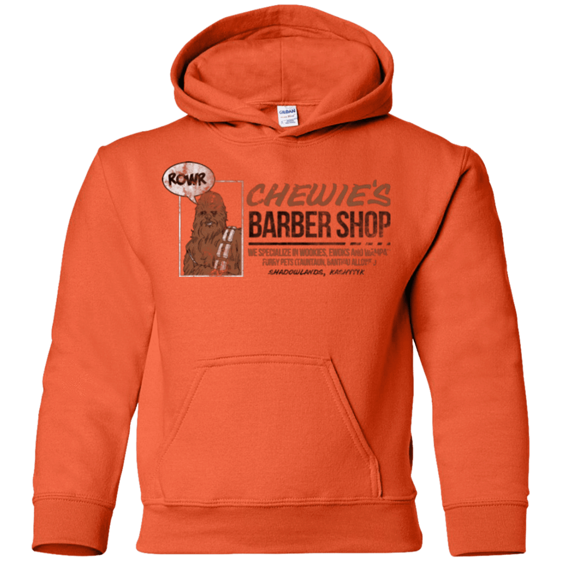 Chewie's Barber Shop Youth Hoodie