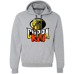Sweatshirts Sport Grey / S COBRA KAI Premium Fleece Hoodie