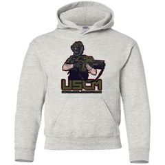 Sweatshirts Ash / YS Colonial Facehugger Youth Hoodie