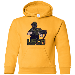 Sweatshirts Gold / YS Colonial Facehugger Youth Hoodie