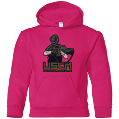 Sweatshirts Heliconia / YS Colonial Facehugger Youth Hoodie