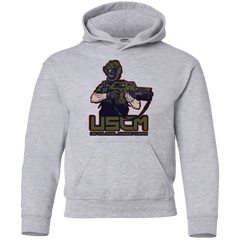 Sweatshirts Sport Grey / YS Colonial Facehugger Youth Hoodie