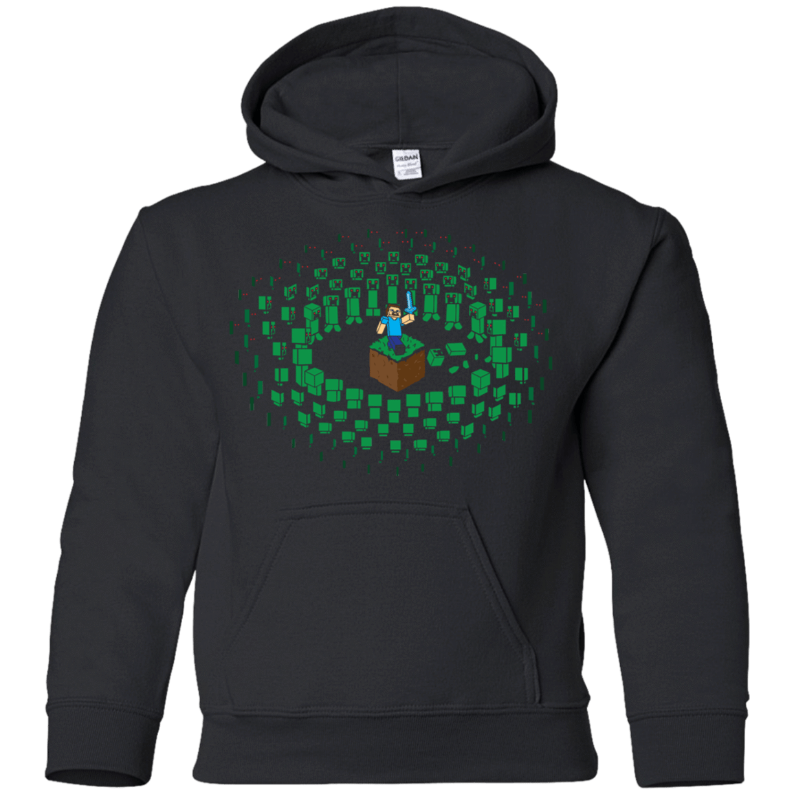 Creeper Mob Youth Hoodie