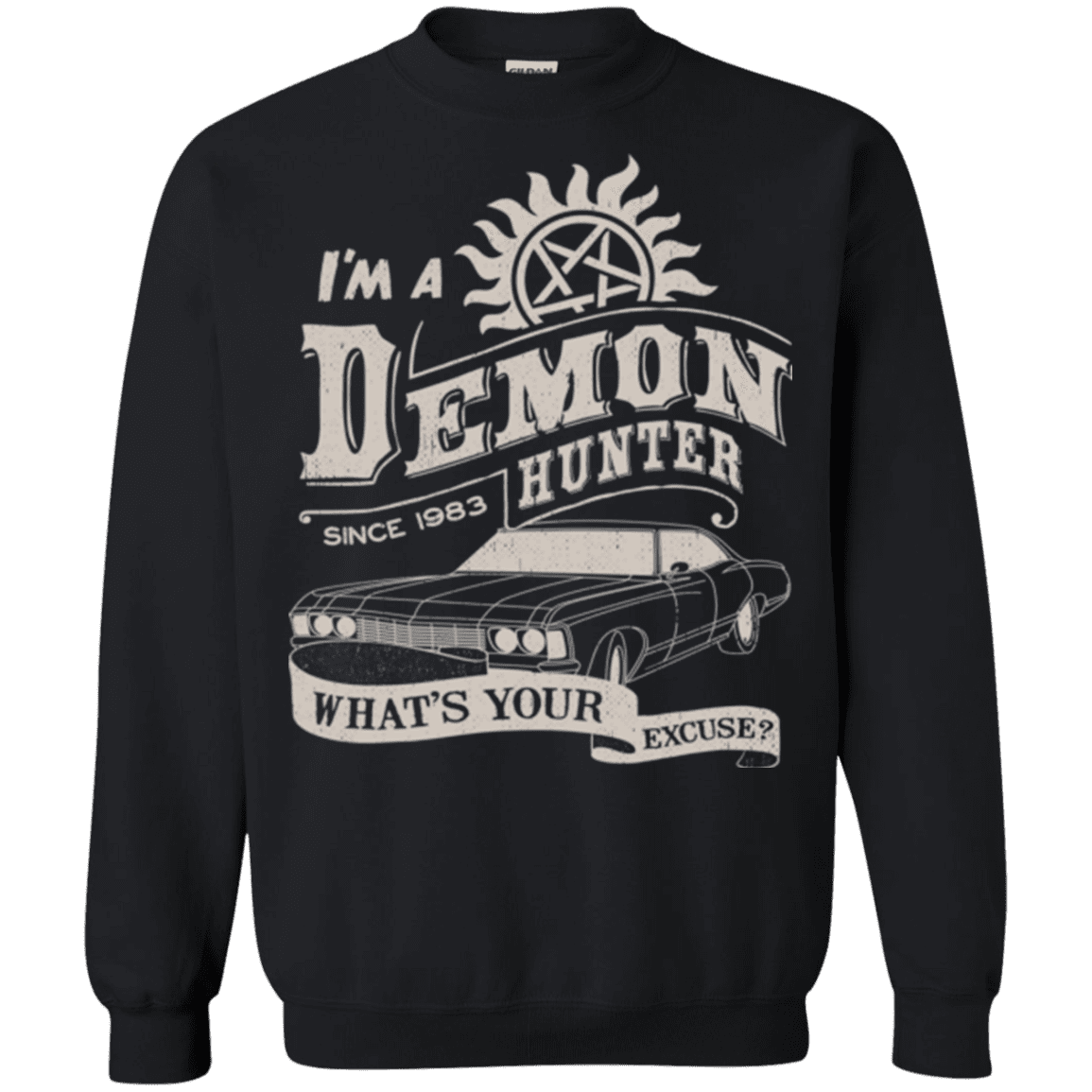 Demon Hunter (1) Crewneck Sweatshirt