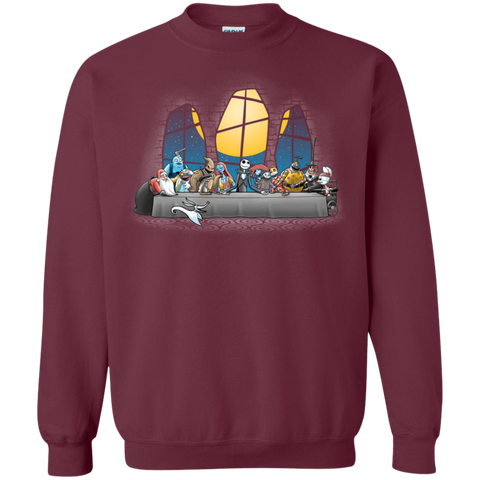 Dinner Before Christmas Crewneck Sweatshirt