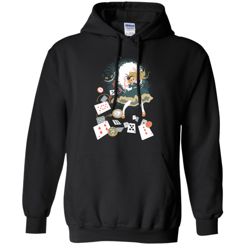 Down the rabbit hole Pullover Hoodie