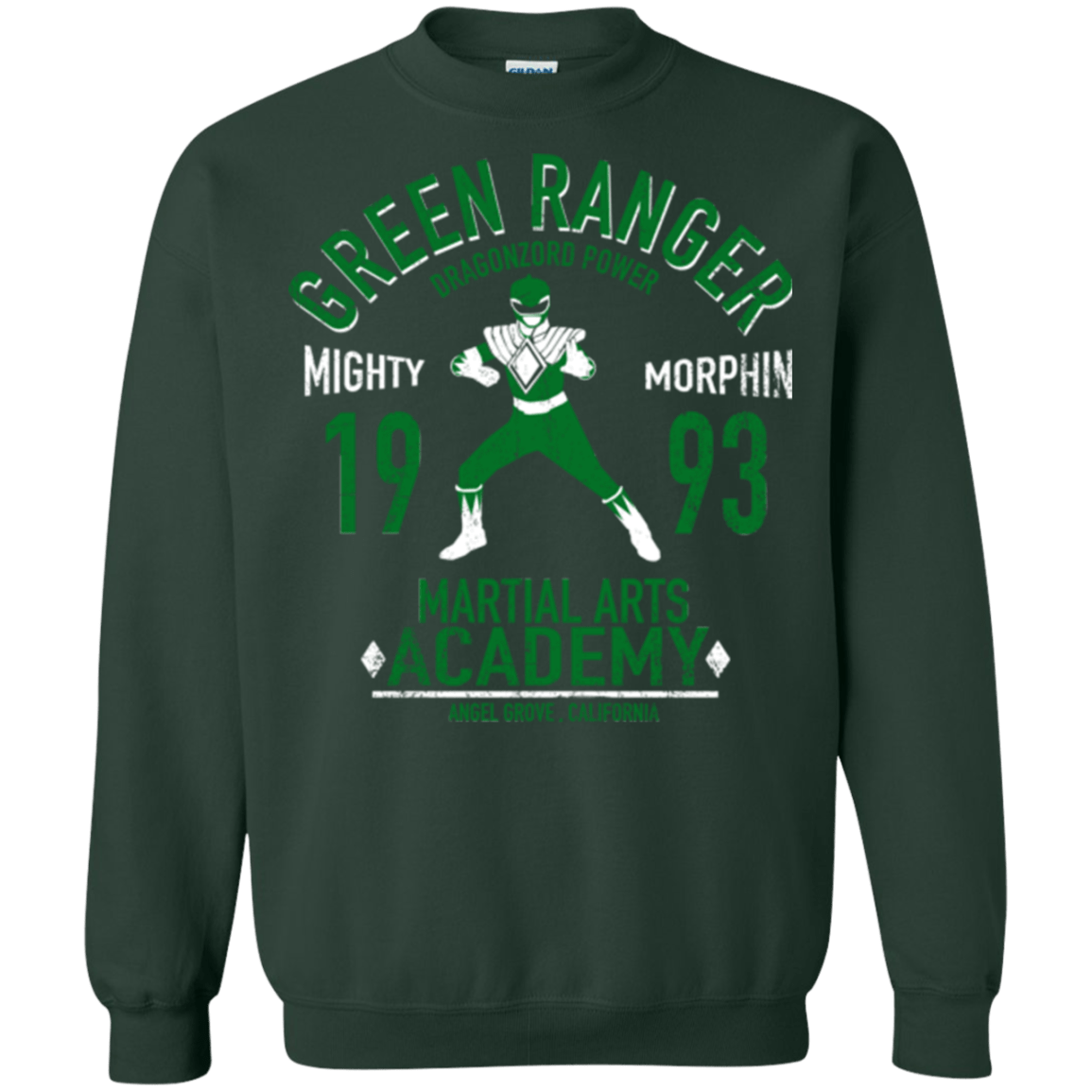 Sweatshirts Forest Green / Small Dragon Ranger (1) Crewneck Sweatshirt