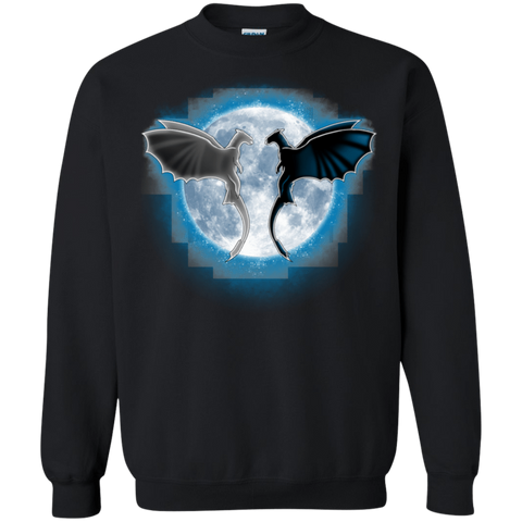 Dragons Moon Crewneck Sweatshirt