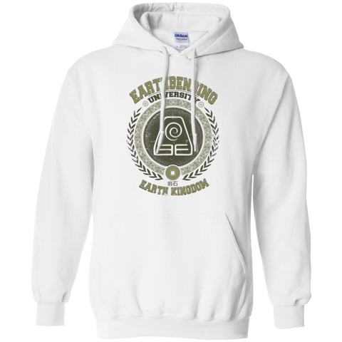 Sweatshirts White / Small Earthbending university Pullover Hoodie