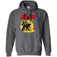 Sweatshirts Dark Heather / S Elle N11 Pullover Hoodie