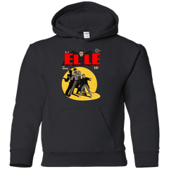 Sweatshirts Black / YS Elle N11 Youth Hoodie