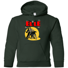 Sweatshirts Forest Green / YS Elle N11 Youth Hoodie