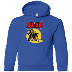 Sweatshirts Royal / YS Elle N11 Youth Hoodie