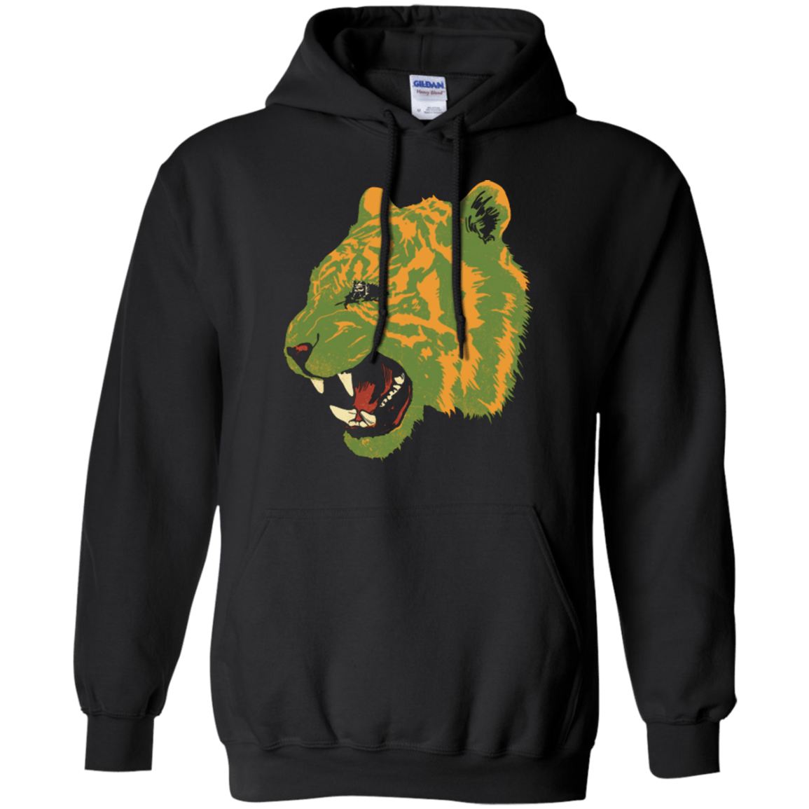 Sweatshirts Black / Small Eye Of The Tiger Pullover Hoodie