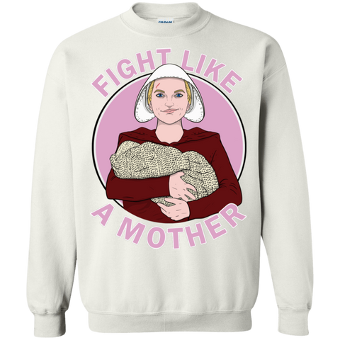 Fight Like a Mother Crewneck Sweatshirt