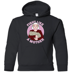 Sweatshirts Black / YS Fight Like a Mother Youth Hoodie