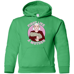 Fight Like a Mother Youth Hoodie