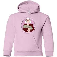 Sweatshirts Light Pink / YS Fight Like a Mother Youth Hoodie