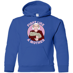 Sweatshirts Royal / YS Fight Like a Mother Youth Hoodie