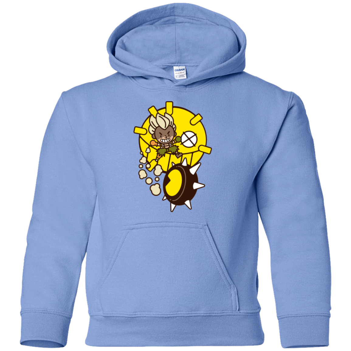 Sweatshirts Carolina Blue / YS Fire in the Hole Youth Hoodie