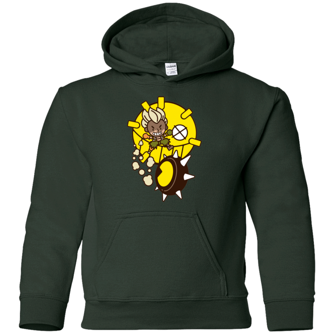Sweatshirts Forest Green / YS Fire in the Hole Youth Hoodie
