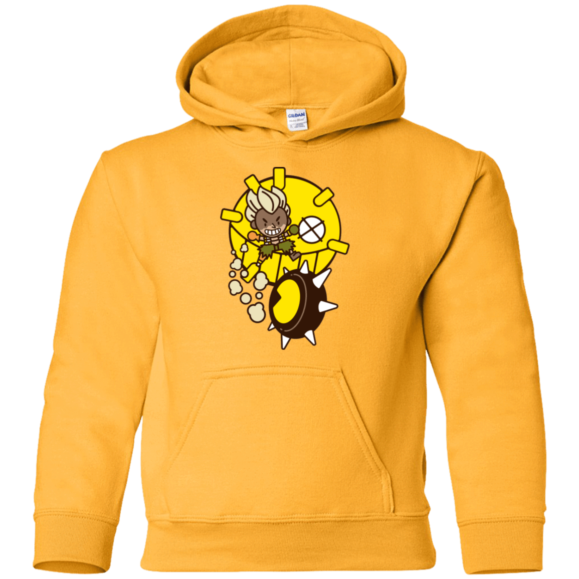 Sweatshirts Gold / YS Fire in the Hole Youth Hoodie