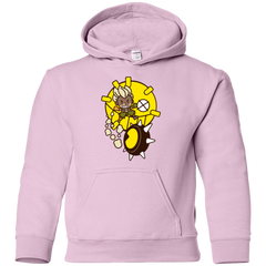Sweatshirts Light Pink / YS Fire in the Hole Youth Hoodie