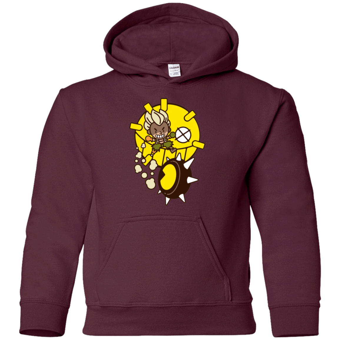 Sweatshirts Maroon / YS Fire in the Hole Youth Hoodie