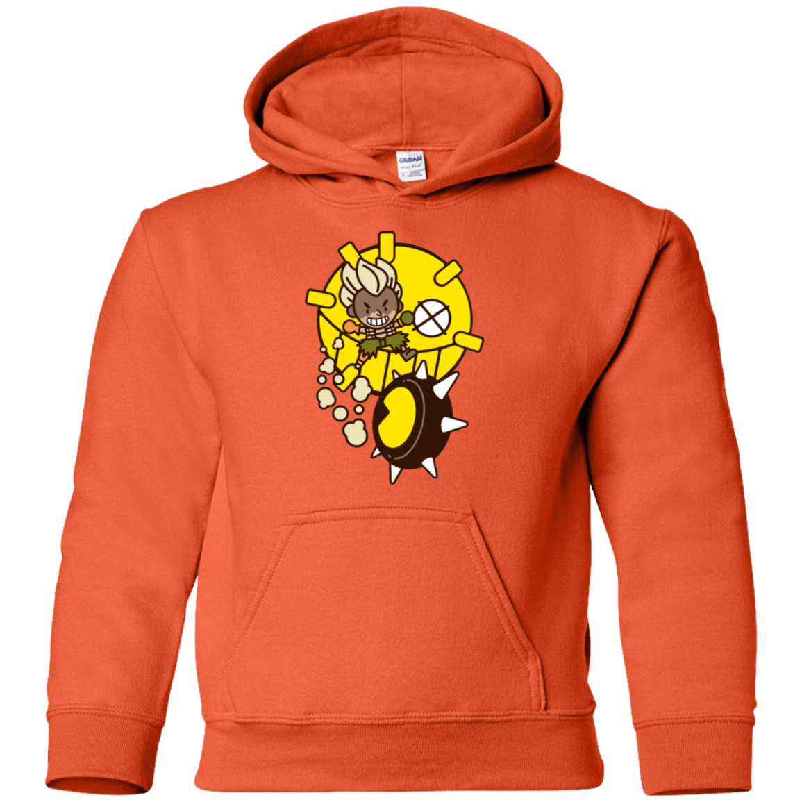 Sweatshirts Orange / YS Fire in the Hole Youth Hoodie