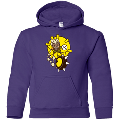 Sweatshirts Purple / YS Fire in the Hole Youth Hoodie