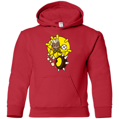 Sweatshirts Red / YS Fire in the Hole Youth Hoodie